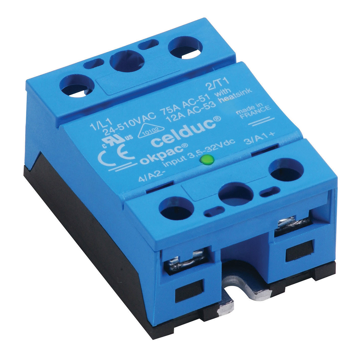 So865970 50 Amp Ac Voltage Input Solid State Relay Tecnologic Uk For