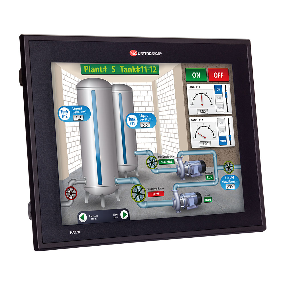 VISION Touch Screen PLCs