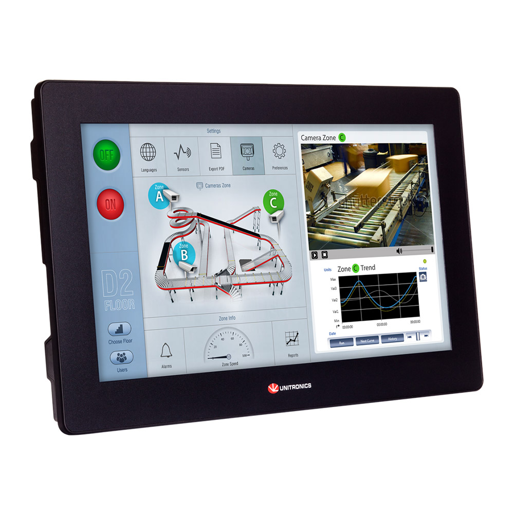 Unistream Touch Screen PLCs