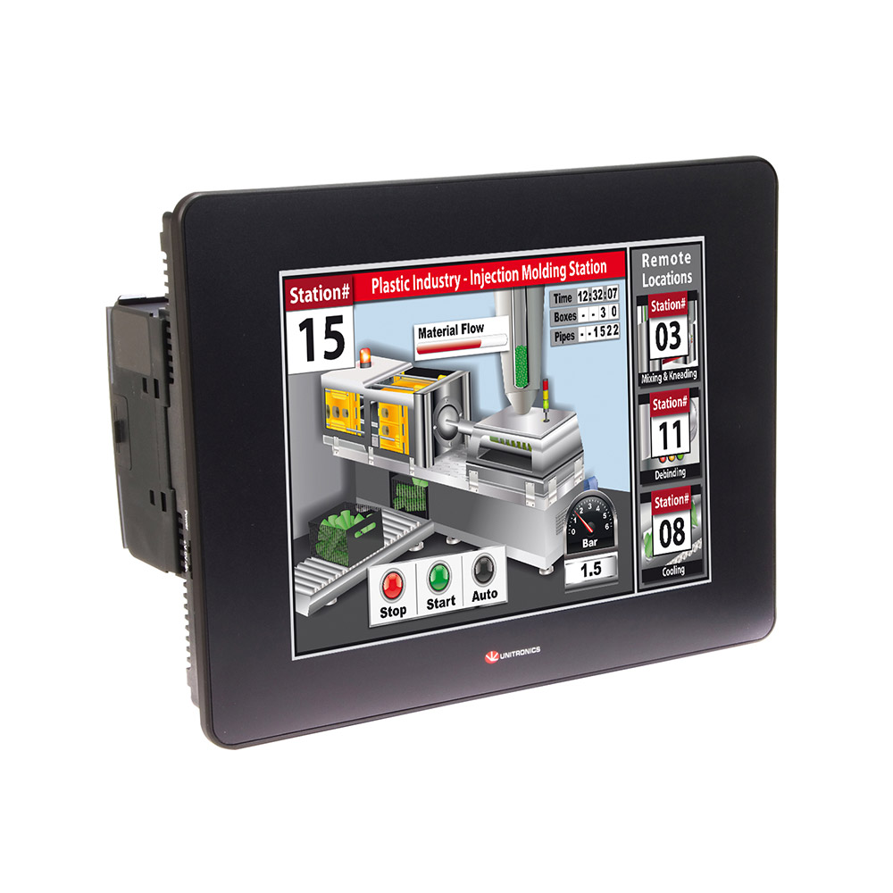 PLCs with Integrated HMI